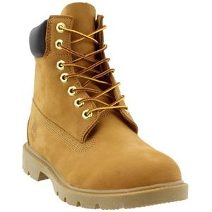 he Timberland Mens 6 Padded Collar Waterproof Boot